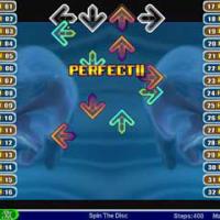 Sportgames software op het scherm